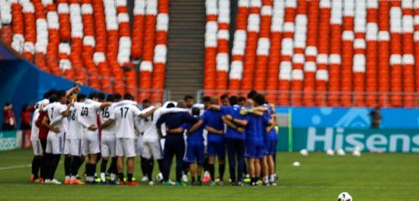 مناطره عملکرد تیم ملی در جام جهانی