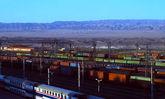 قطار و کشتی در جاده ابریشم نوین