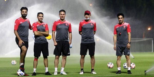پخش زنده فوتبال پرسپولیس - الدحیل