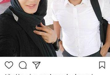 تقدیر الهه منصوریان از وظیفه مقدس آقایان مجری+عکس