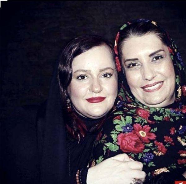 فریبا کوثری ونعیمه نظام دوست در کنار هم + عکس