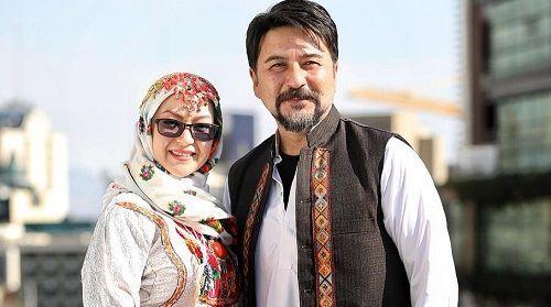 امیرحسین صدیق و همسرش + عکس