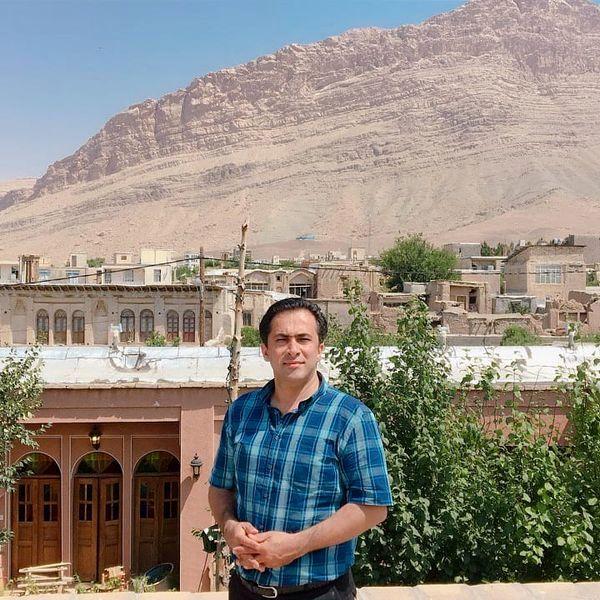 گردش تابستانی داود عابدی در زادگاه پدری اش+عکس