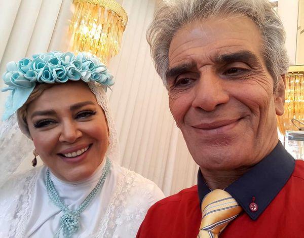 بازیگر پیشکسوت کنار ماه بانوی سینمای ایران!+عکس