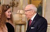 رئیس جمهوری تونس با عهد التمیمی دیدار کرد