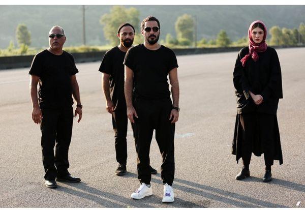 نوید محمدزاده اینبار در مقابل دوربین هومن سیدی قرار گرفت + عکس