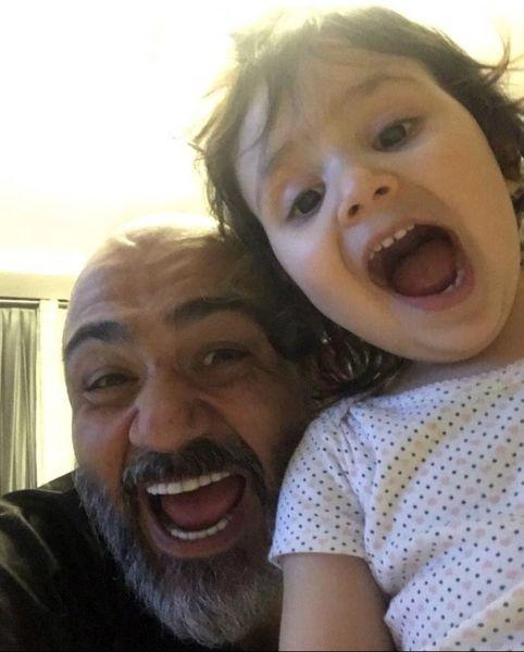 بازی های پدر دختری مهران غفوریان + عکس