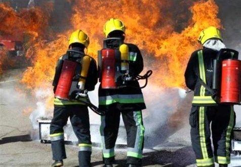 آتش در کمپ ترک اعتیاد زنان قرچک