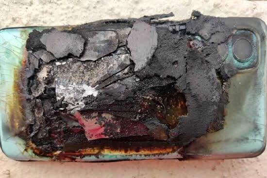 انفجار باتری گوشی وان پلاس بدون دلیل !