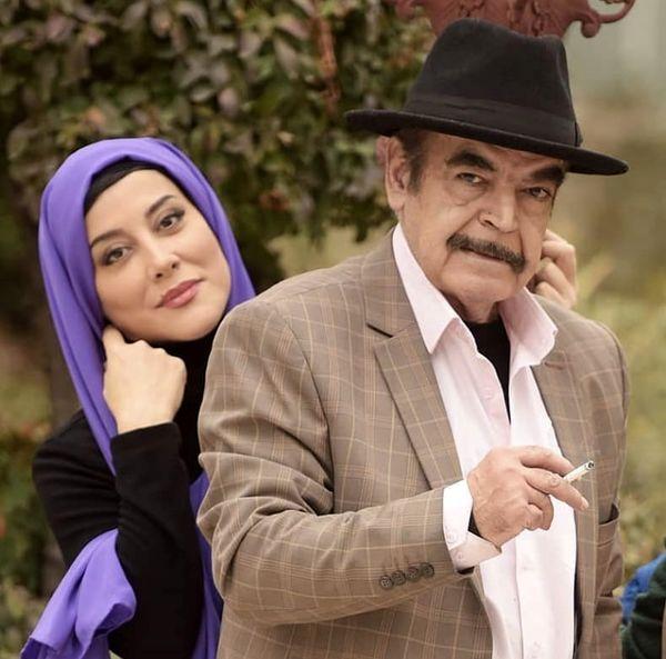 حمید لولایی و دخترش + عکس