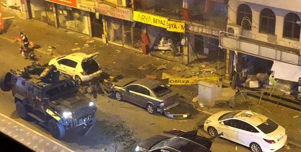 انفجار در مرکز شهر «اسکندرون»