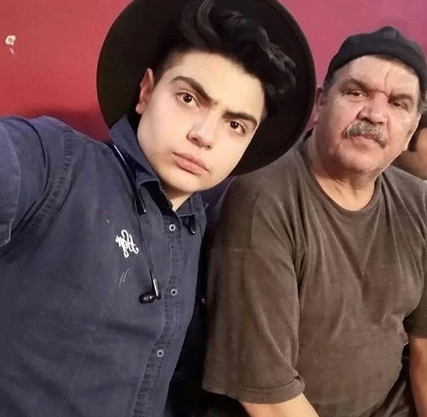 شباهت کیانوش گرامی و پسرش + عکس