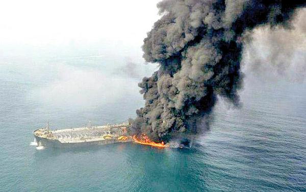 آغاز پروسه حقوقی دریافت خسارات کشتی سانچی