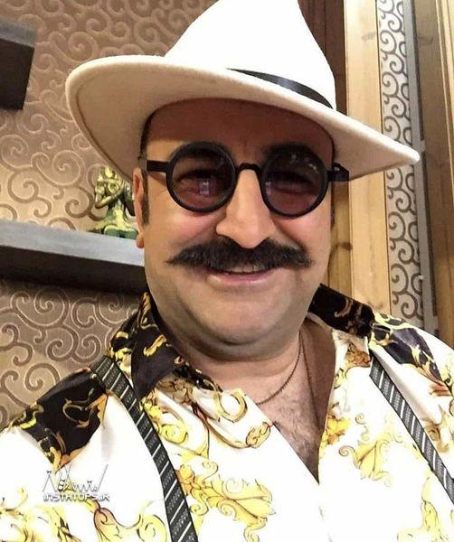 مهران احمدی با استایلی دیده نشده + عکس
