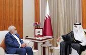 محمد جواد ظریف با امیر قطر دیدار کرد