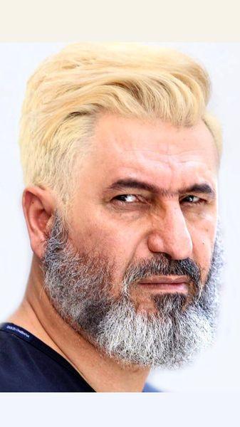حمید فرخ نژاد با گریمی دیده نشده + عکس