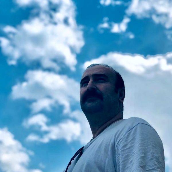 سلفی آسمانی آقا بهبود + عکس