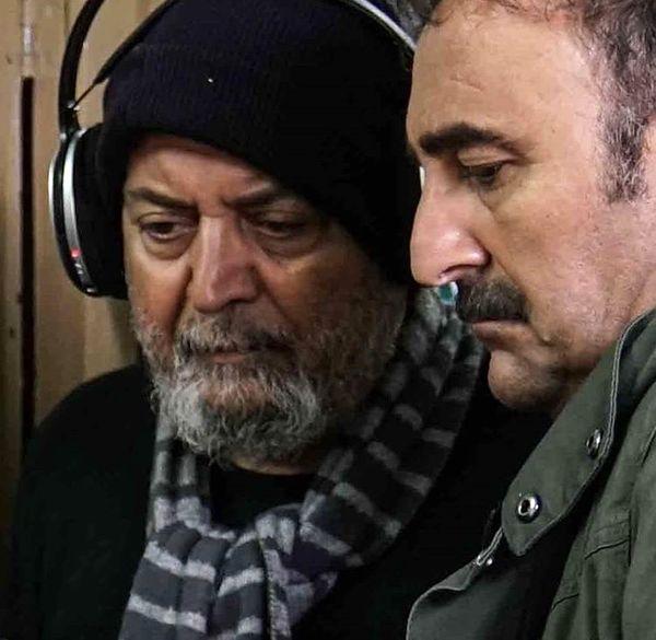 مهران احمدی در کنار سیروس الوند + عکس