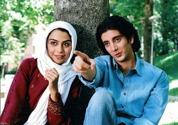 عکس بامزه از نوجوانی فرزاد فرزین در کنار مارال فرجاد