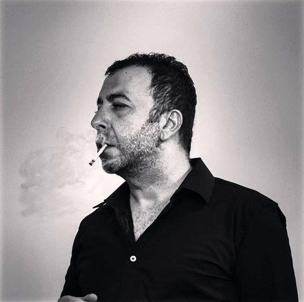 سیگار کشیدن محمدرضا مالکی + عکس