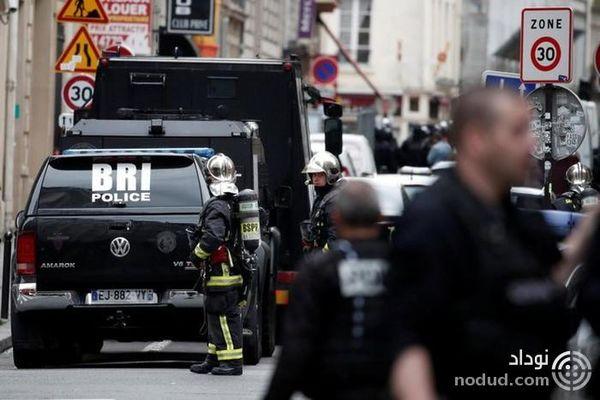 زن باردار در میان گروگان های حادثه گروگانگیری پاریس