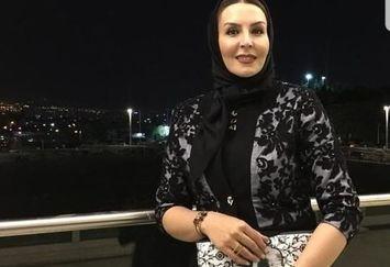 بازیگر سریال گاندو با لباس مجلسی+عکس