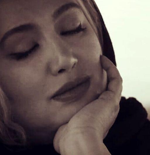 گفتگو عاشقانه خانم بازیگر جنجالی با خدا