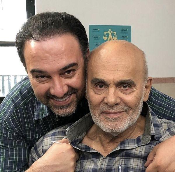 دوبازیگر معروف در آغوش هم/ عکس