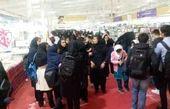 استقبال پر شور دانش آموزان کرد از نمایشگاه کتاب