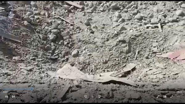 حجم تخریب انفجار مرگبار ننگرهار