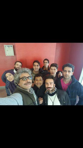 امیر غفارمنش در جمع دوستانش + عکس
