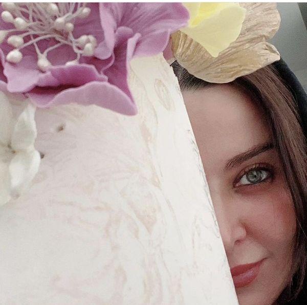 فقیهه سلطانی و کیک تولدش + عکس