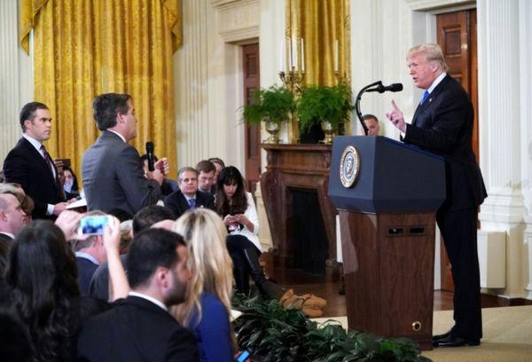 حمایت رسانه های آمریکا از CNN برای شکایت از ترامپ
