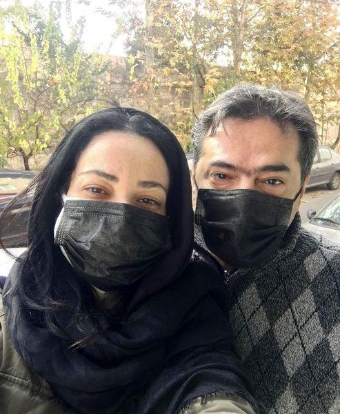 نسریا نصرتی و همسرش + عکس