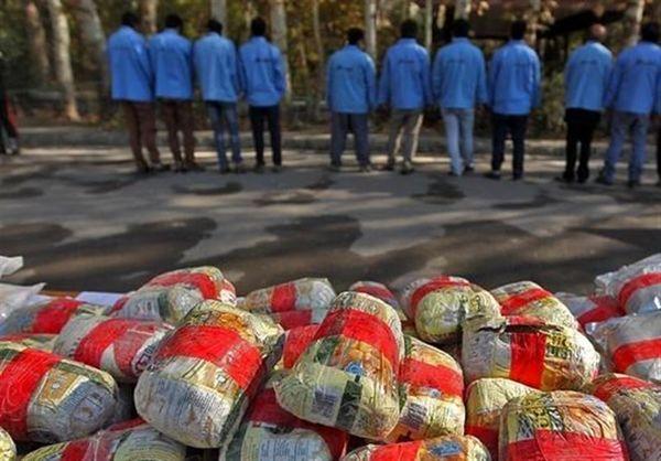 کشف ۱۲.۵ تن موادمخدر در کشور طی هفته گذشته