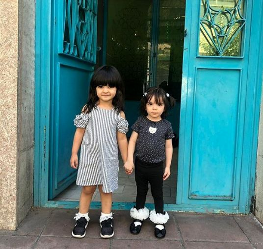 دختر بانمک فقیهه سلطانی با یار جدانشدنی اش+عکس