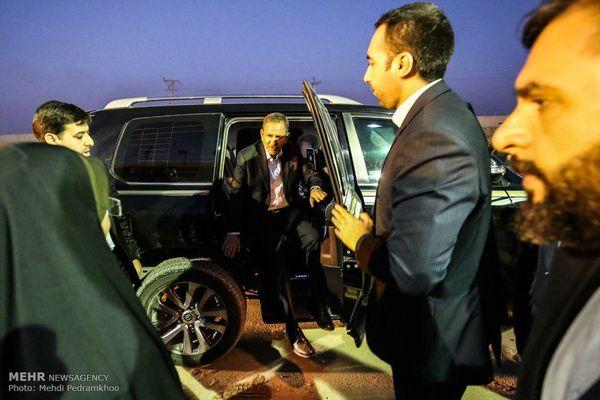 ماشین جهانگیری در سفر خوزستان