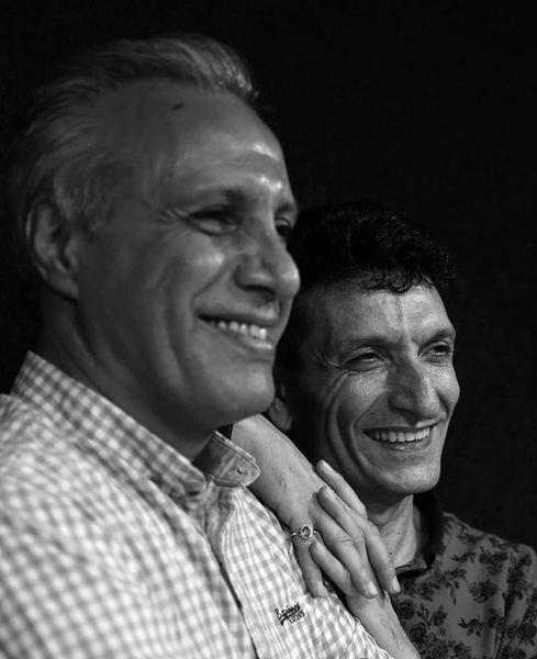 خنده تلخ علی فروتن و حمید گلی + عکس