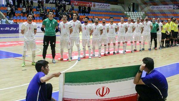 احتمال رویارویی تیم ملی فوتسال ایران با برزیل یا آرژانتین