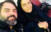 ذوق زدگی شهرام قائدی از دیدن مادر مهربانش+عکس