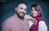 عکس زیبای بابک جهانبخش با همسرش