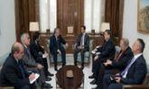 دیدار رئیس جمهور سوریه با فرستاده ویژه پوتین