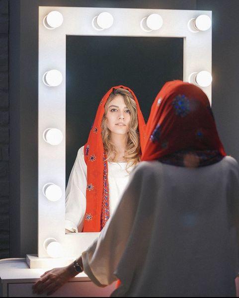 ماهور الوند در آینه + عکس