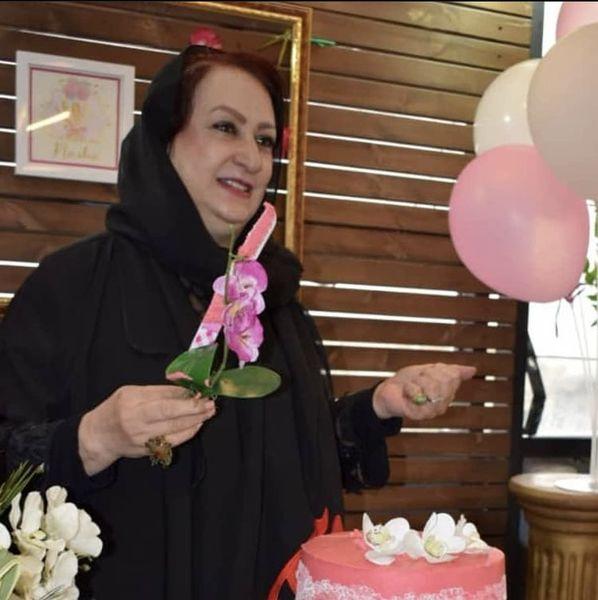 تولد مریم امیر جلالی در یک کافه + عکس