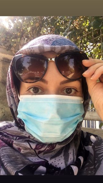 ظاهر این روزهای آزاده نامداری + عکس