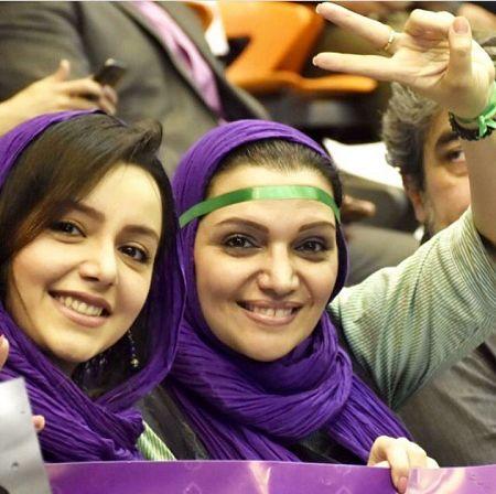 توهین بیشرمانه  بازیگر زن به همه ایرانیها
