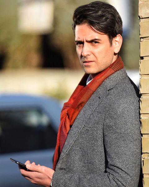 استایل شیک امیرحسین آرمان در خیابان + عکس