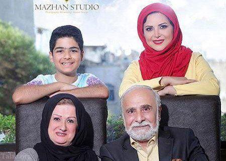 عکس خانوادگی کمند امیرسلیمانی