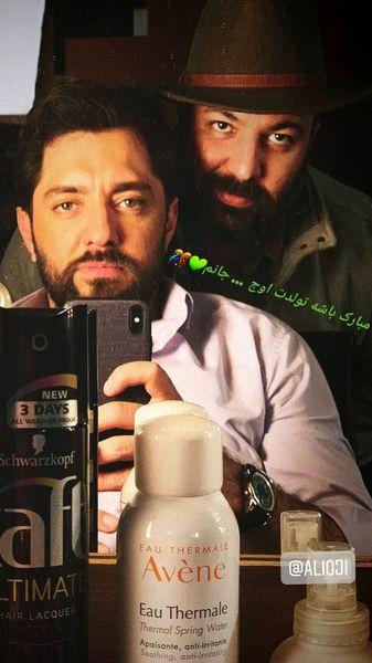بهرام رادان و علی اوجی در کنار هم + عکس