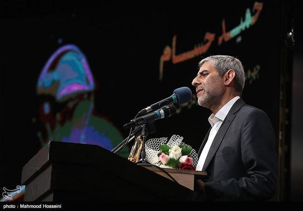 حمید حسام چهره سال هنر انقلاب اسلامی شد